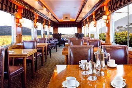 Blue Train afternoon tea