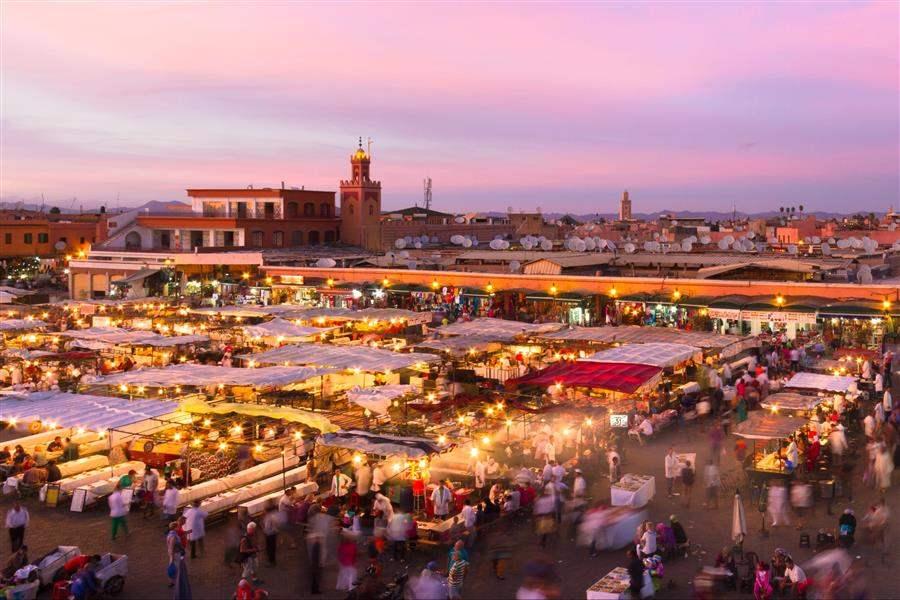 Marrakech Jemaa El Fna