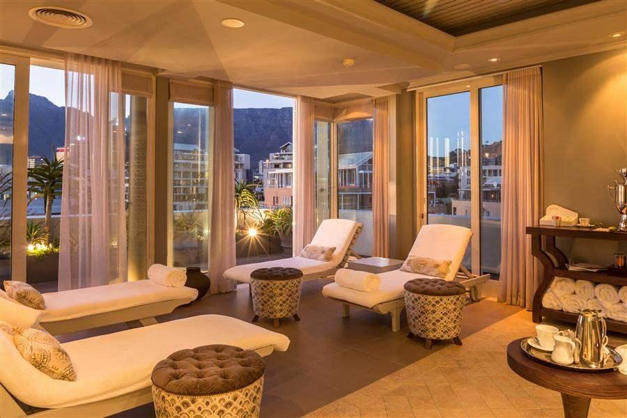 Cape Grace Hotel Spa Area