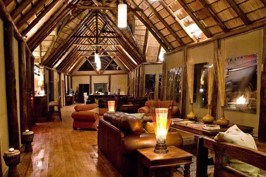 Amakhala Bush Lodge Public Area Evening