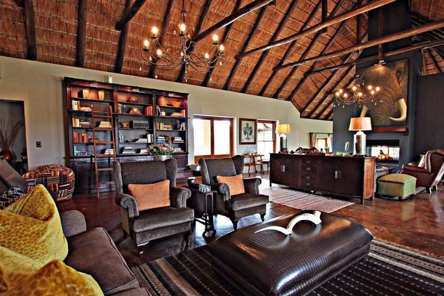 Amakhala Hlosi Game Lodge Lobby Reception