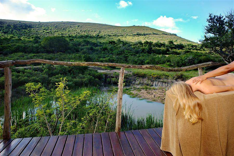Shamwari Bayethe Lodge Outdoor Massage