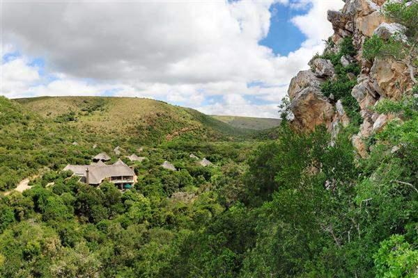 Shamwari Eagles Crag Lodge Aerial View