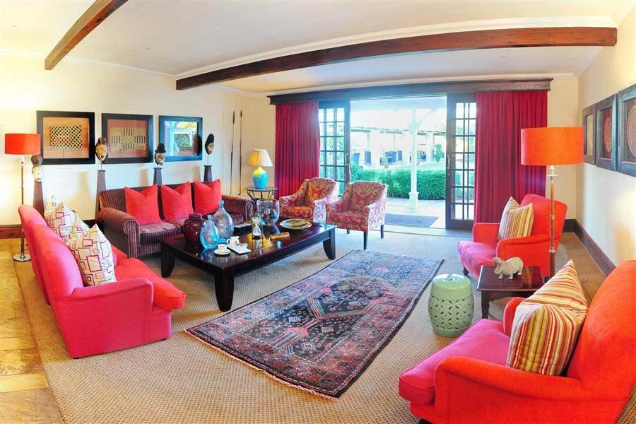 Shamwari Riverdene Lodge Living Area