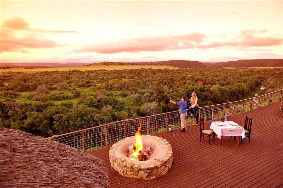 Shamwari Riverdene Lodge Viewfrom Balcony