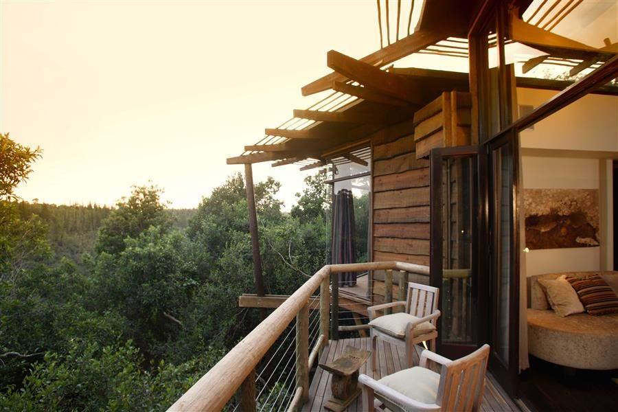 Tsala Treetop Lodge Balcony