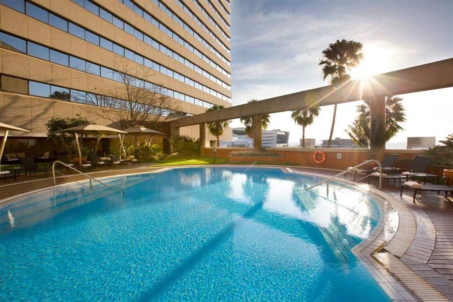 Intercontinental Sandton Towers Pool Daytime