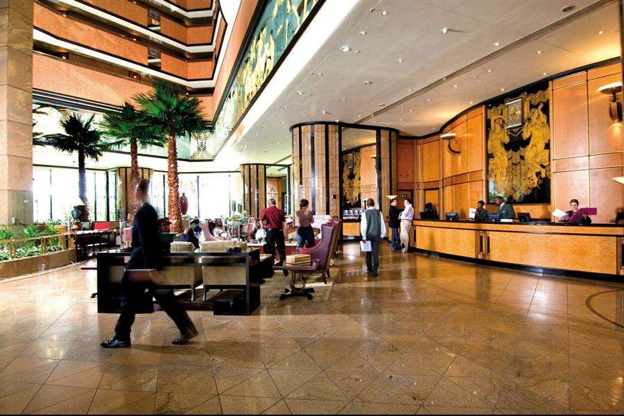 Intercontinental Sandton Towers Lobby