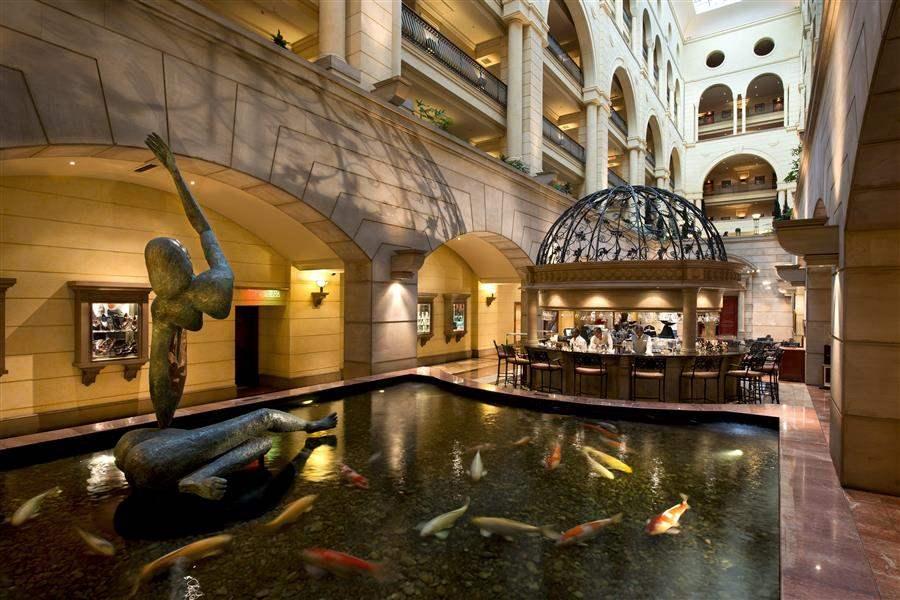 Michelangelo Hotel Koi Pond