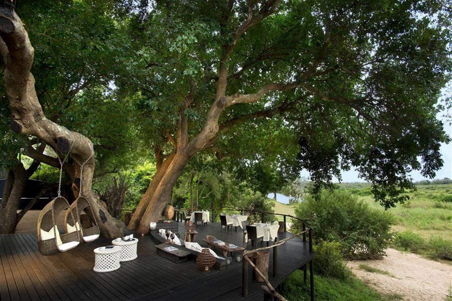 Lion Sands Ivory Lodge Terrace View