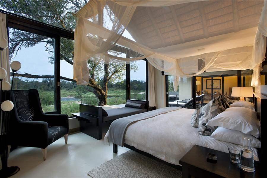 Lion Sands Ivory Lodge King Bedroom