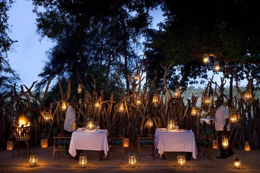 Lion Sands River Lodge Boma Dinner