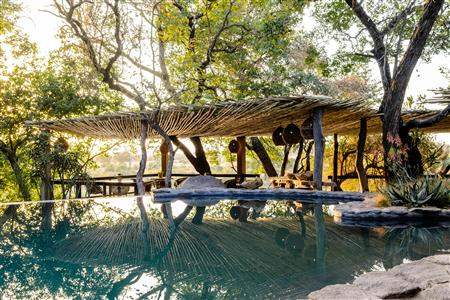 Singita Boulders Lodge Pool Day