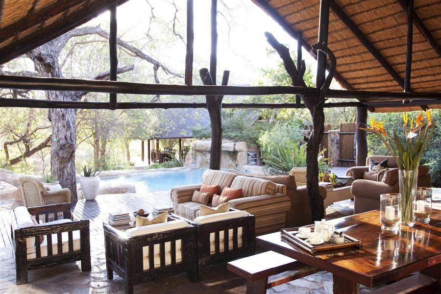 Thornybush Chapungu Luxury Tented Camp Indoor Seating