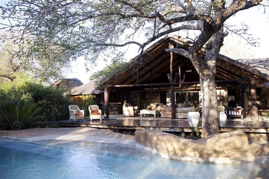 Thornybush Chapungu Luxury Tented Camp Exterior Pool