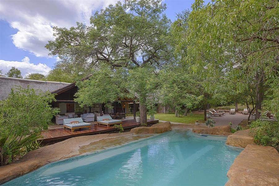 Thornybush Chapungu Luxury Tented Camp Pool Day