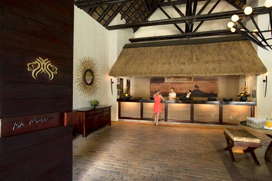 Kwa Maritane Bush Lodge Check In