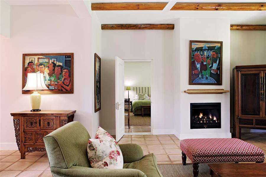 Spier Hotel Villa Living Room