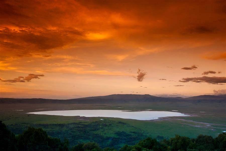 NgorongoroCraterSunset