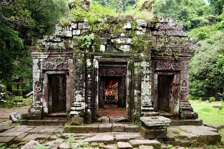 ancient ruins laos, laos