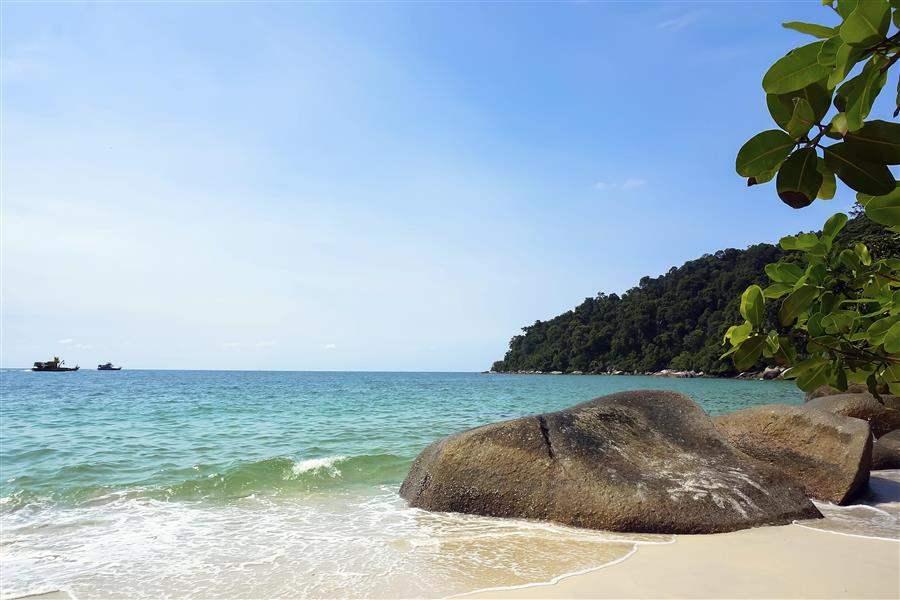 pangkor beach, pangkor, malaysia