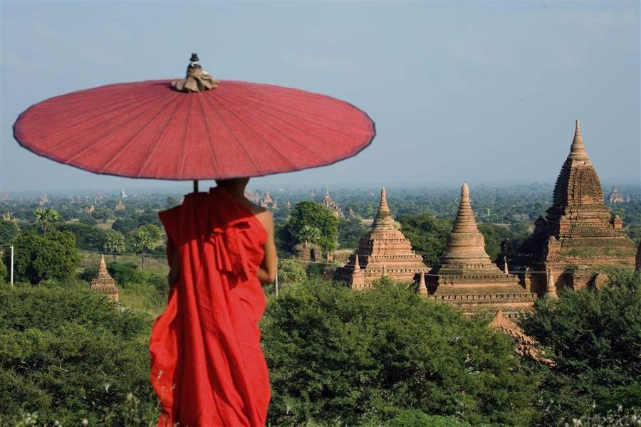 red monk best of myanmar, myanmar