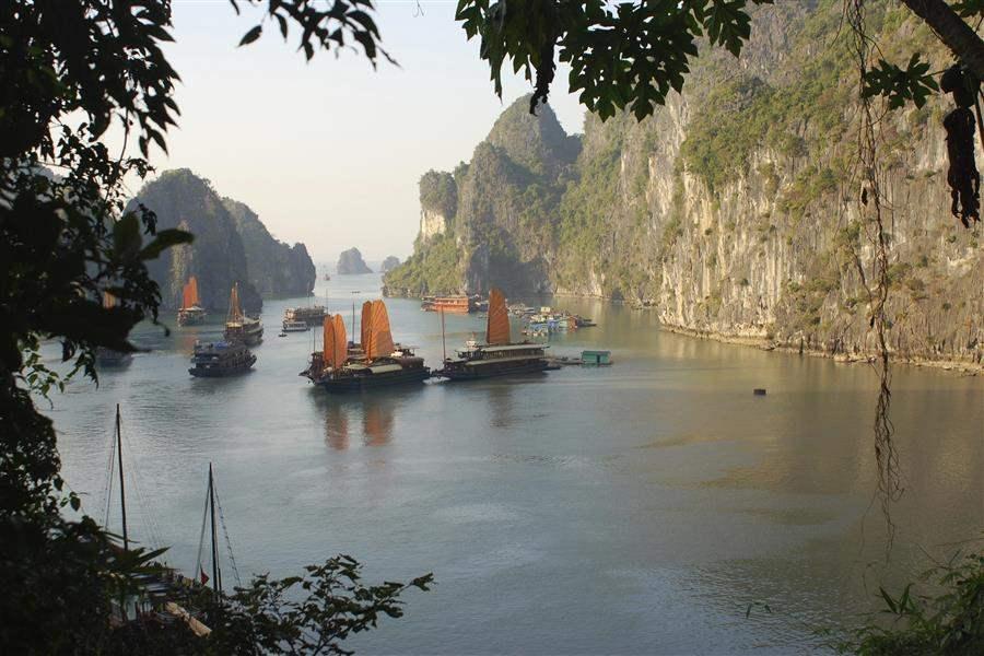 junk cruise vietnam vietnam