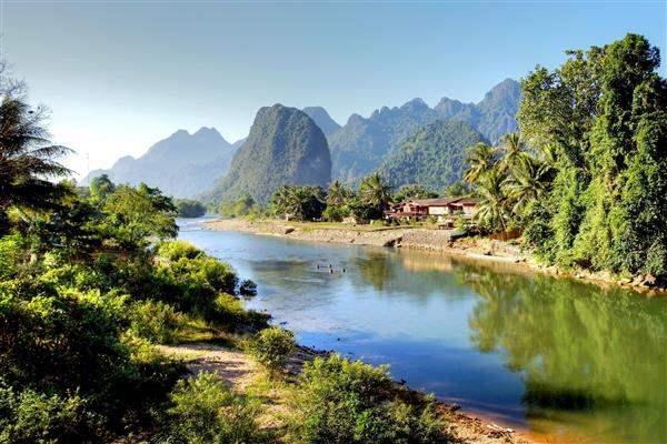 pakbeng river explore northern laos