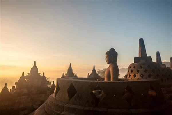 Indonesia_BorobudurSunrise