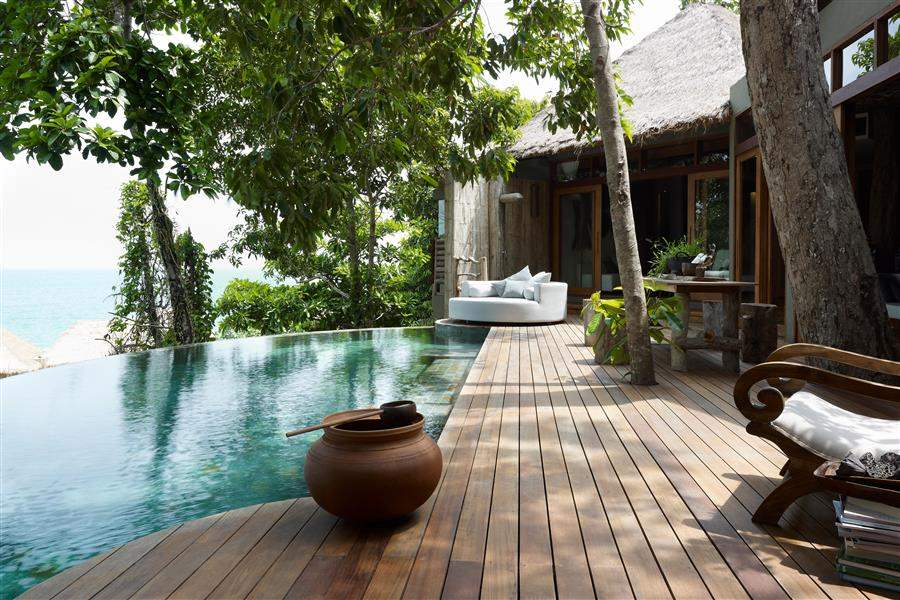 Song Saa Private Island Swimming Pool Deck