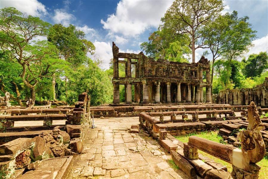 Cambodia Preah Khan 4