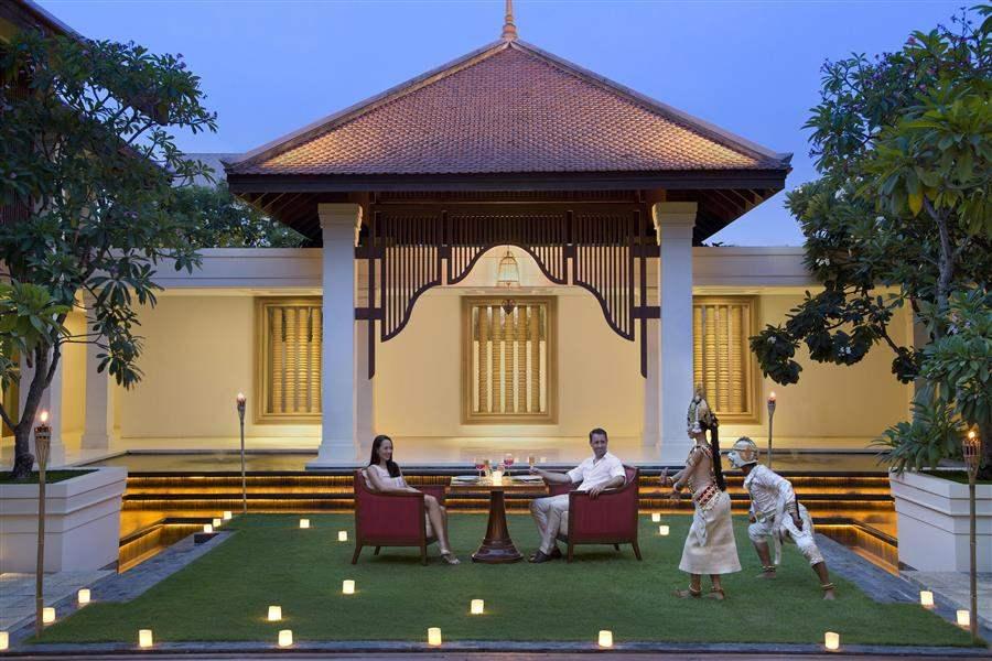 Anantara Angkor Resort and Spa Outdoor Dining