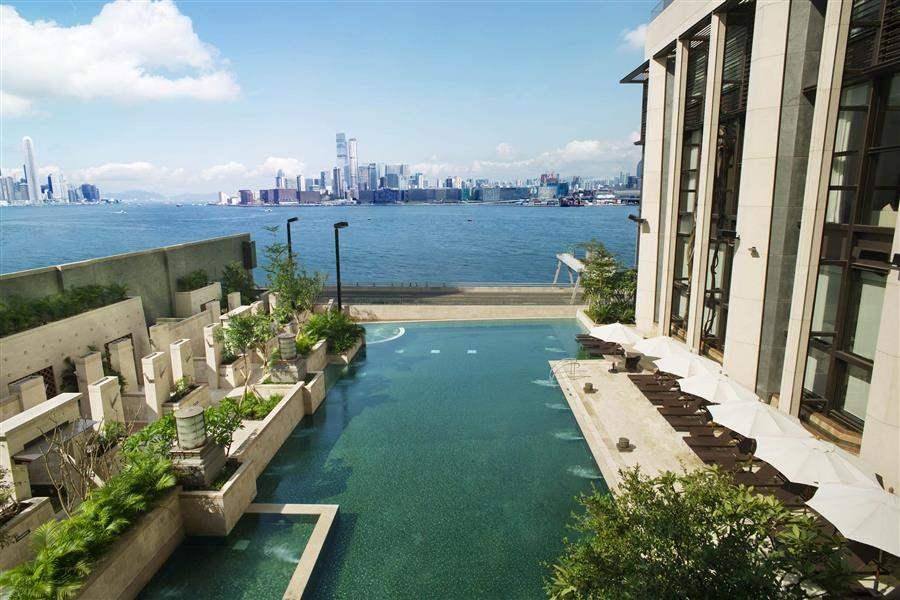 Harbour Grand Hong Kong Aerial View