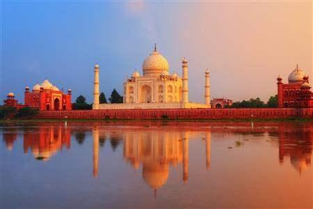 India Agra Taj Mahal 2