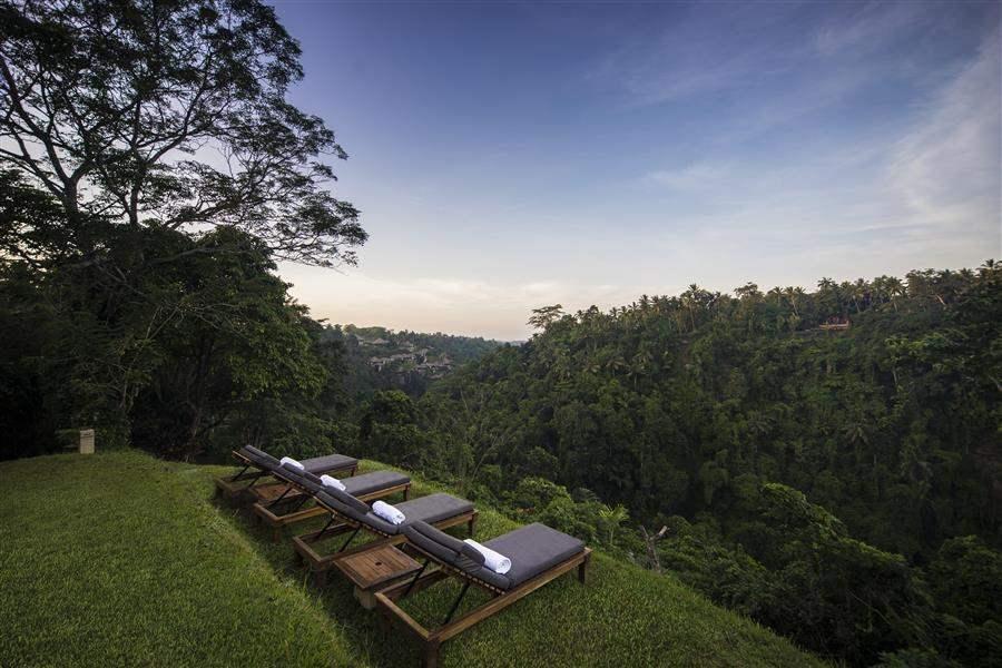 Alila Ubud Bali Sunloungers