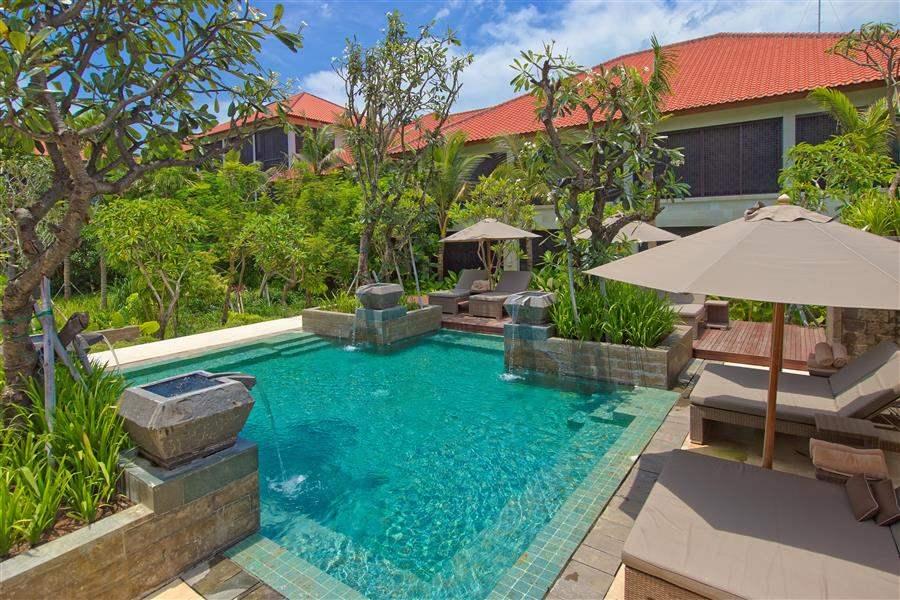 Fairmont Sanur Beach Bali Pool And Loungers