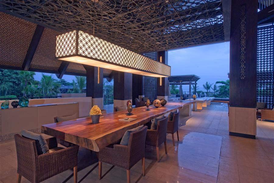 Fairmont Sanur Beach Bali Dining Table