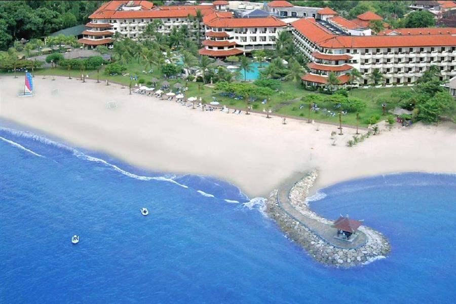 Grand Mirage Resort Thalasso Bali Hotel Aerial