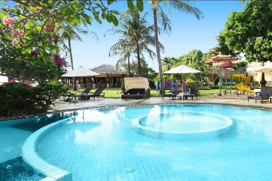 Grand Mirage Resort Thalasso Bali Pool And Garden