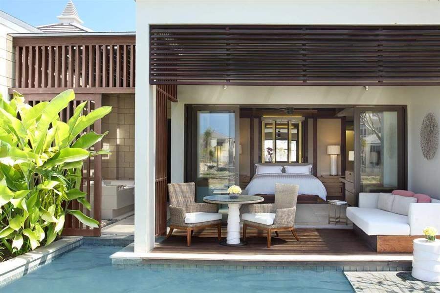 The Ritz Carlton Bali Pool Area