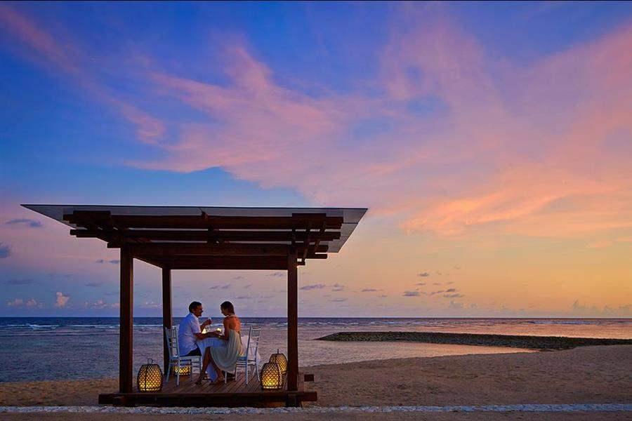The Ritz Carlton Bali Dinner At Sunset