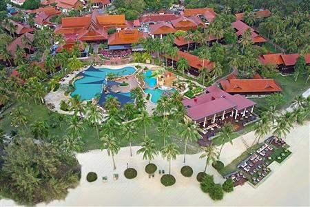 Meritus Pelangi Beach Resort and Spa Langkawi Aerial Shot