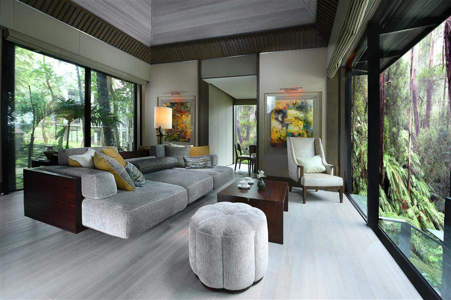 Rainforest Villa Living Room
