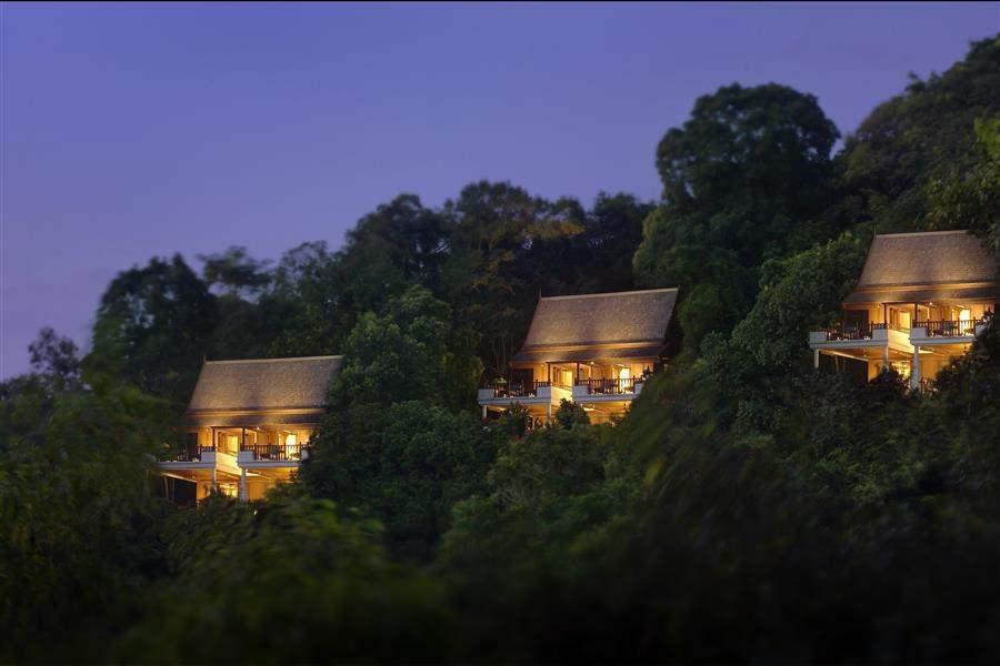 Pangkor Laut Main Resort  and Spa Village Hotel Exterior Night