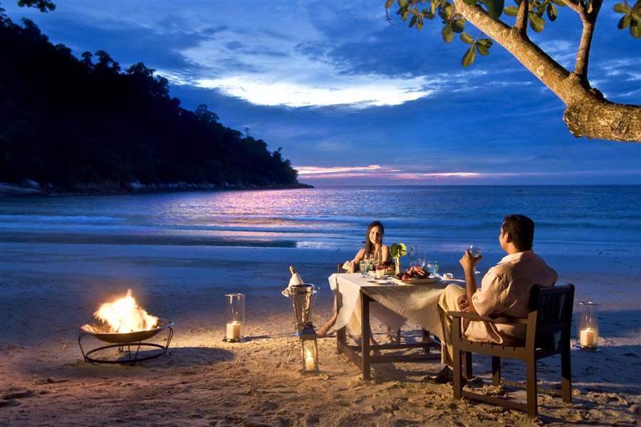 Pangkor Laut Main Resort  and Spa Village Beach Dining