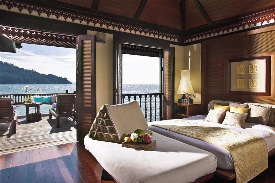 Pangkor Laut Main Resort  and Spa Village Double Room Sea View