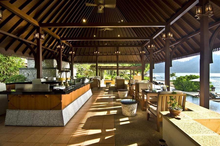 Pangkor Laut Main Resort  and Spa Village Dining Terrace