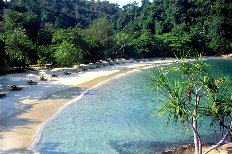 Pangkor Laut Main Resort  and Spa Village Beach View