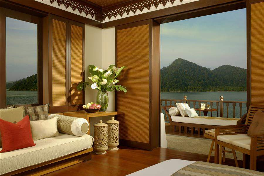 Pangkor Laut Main Resort  and Spa Village Indoor Outdoor Lounge