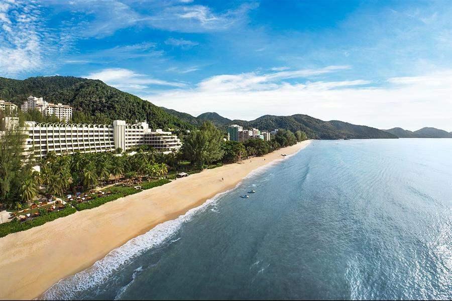 Park Royal Penang Resort Aerial
